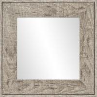 Miroir Miroir Ds - MDF - 46x46 cm - Marron - Generique