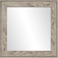 Miroir Miroir Ds - MDF - 50x50 cm - Marron - Generique