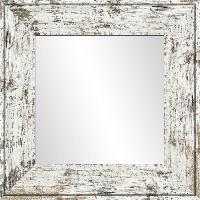Miroir Miroir Harry - MDF - 46x46 cm - Gris