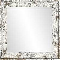 Miroir Miroir Harry - MDF - 66x66 cm - Gris