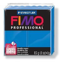 Modelage - Sculpture FIMO Boîte 4 Pieces Fimo Professionnel 85G Bleu - Ferry