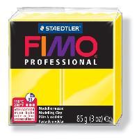 Modelage - Sculpture FIMO Boite 4 Pieces Fimo Professionnel 85G Jaune