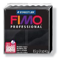 Modelage - Sculpture FIMO Boite 4 Pieces Fimo Professionnel 85G Noir