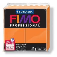 Modelage - Sculpture FIMO Boîte 4 Pieces Fimo Professionnel 85G Orange - Ferry