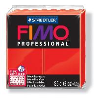 Modelage - Sculpture FIMO Boîte 4 Pieces Fimo Professionnel 85G Rouge - Ferry
