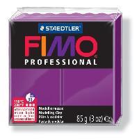 Modelage - Sculpture FIMO Boîte 4 Pieces Fimo Professionnel 85G Violet - Ferry