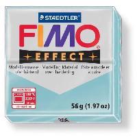 Modelage - Sculpture FIMO Boite 6 Pieces Fimo Bleu Acier 206