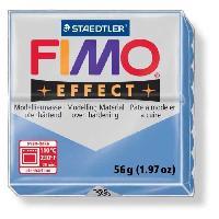 Modelage - Sculpture FIMO Boite 6 Pieces Fimo Bleu Agate 386