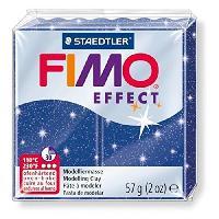 Modelage - Sculpture FIMO Boîte 6 Pieces Fimo Bleu Métal 302 - Ferry
