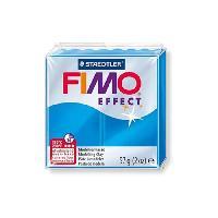 Modelage - Sculpture FIMO Boite 6 Pieces Fimo Bleu Translucide 374