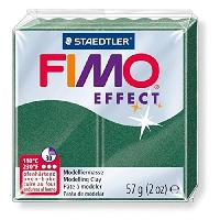 Modelage - Sculpture FIMO Boite 6 Pieces Fimo Emeraude Metal