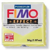 Modelage - Sculpture FIMO Boite 6 Pieces Fimo Jaune Citrine 106