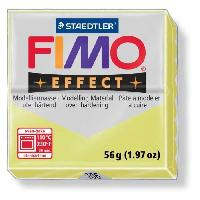 Modelage - Sculpture FIMO Boîte 6 Pieces Fimo Jaune Citrine 106 - Ferry