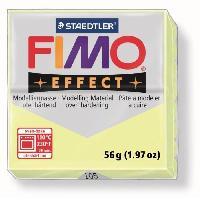 Modelage - Sculpture FIMO Boite 6 Pieces Fimo Jaune Pastel