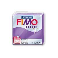 Modelage - Sculpture FIMO Boite 6 Pieces Fimo Lilas Transparent