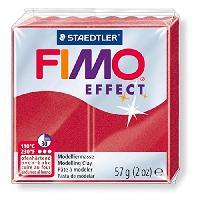 Modelage - Sculpture FIMO Boite 6 Pieces Fimo Rubis Metal 28