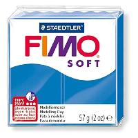 Modelage - Sculpture FIMO Boîte 6 Pieces Fimo Soft Bleu Pacifique N°37 - Ferry