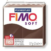 Modelage - Sculpture FIMO Boîte 6 Pieces Fimo Soft Chocolat - Ferry