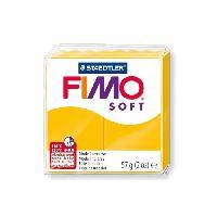 Modelage - Sculpture FIMO Boîte 6 Pieces Fimo Soft Jaune Soleil N°16 - Ferry
