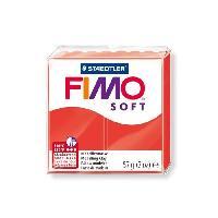 Modelage - Sculpture FIMO Boîte 6 Pieces Fimo Soft Rouge Indigo N°24 - Ferry