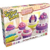 Modelage - Sculpture Goliath - Super Sand Cupcakes - Loisir creatif - Sable a modeler