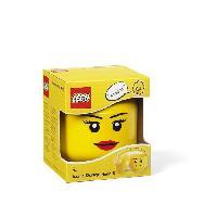 Modelage - Sculpture LEGO Tete de rangement - 40311725 - Empilable - Jaune