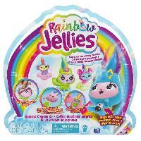 Modelage - Sculpture PACK DE 4 Rainbow Jellies - 6056248 - Coffret creation 25surprises pour creer des personnages personnalises. Pour enfants 6 ans Spin Master