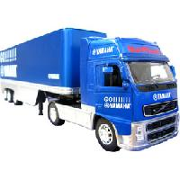 Monde Miniature 6x Camion 1-32 avec remorque - licence assortie - MID