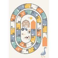 Monde Miniature AASTORY Tapis enfant 100% Vinyle - 66x95 cm - VIF 21595