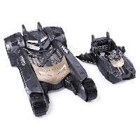 Monde Miniature BATMAN Batmobile 2 EN 1