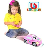 Monde Miniature BURAGO Junior Voiture RC télécommandée Junior 1er âge Coccinelle infrarouge Rose