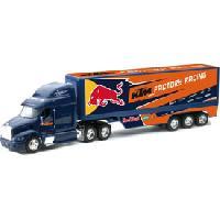 Monde Miniature Camion 1-32 Peterbilt Red Bull KTM Racing - Generique