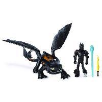 Monde Miniature DRAGONS 3 - Pack Figurines Dragon & Viking - Harold & Krokmou - Aucune