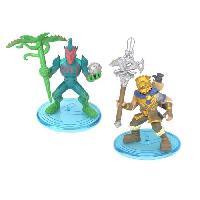 Monde Miniature FORTNITE Battle Royale - Pack Duo Figurines 5cm - Battle Hound & Flytrap