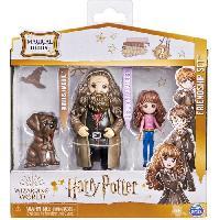 Monde Miniature HARRY POTTER Pack amitié Magical Hermione et Agrid