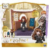 Monde Miniature HARRY POTTER Playset cours sortileges Wizar