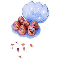 Monde Miniature HATCHIMALS a collectionner - Coffret Sea Shell de 6 Hatchimals Saison 5 - Modele aléatoire - Aucune