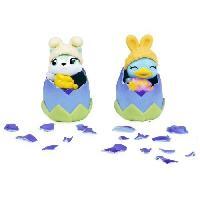Monde Miniature HATCHIMALS a collectionner - Pack de 2 Hatchimals Bouncing Bunwee - Spécial oeufs Pâques - Aucune