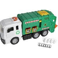Monde Miniature Motor Shop Camion Poubelle 52 cm