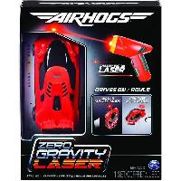 Monde Miniature ZERO GRAVITY LASER RC ROUGE Air Hogs - 6054126 - Voiture Véhicule radiocommandée a commandes laser qui roule sur les murs