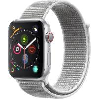 Montre Bluetooth - Montre Connectee AppleWatch Series4 GPS+Cellular. 44mm. Boitier en aluminium argent avec Boucle Sport coquillage