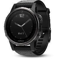 Montre Bluetooth - Montre Connectee GARMIN Fenix 5S Sapphire Black Montre GPS Cardio Multisport - Noir