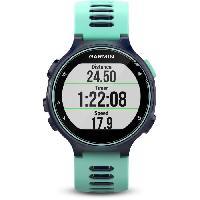 Montre Bluetooth - Montre Connectee GARMIN Forerunner 735XT Montre GPS - Bleu et vert d'eau