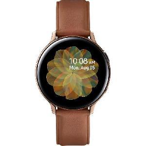Montre Bluetooth - Montre Connectee Galaxy Watch Active 2 44mm Acier. Or Brillant Samsung