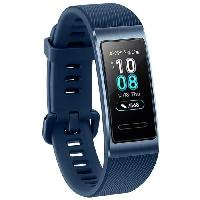 Montre Bluetooth - Montre Connectee HUAWEI Band 3 Pro Bleu