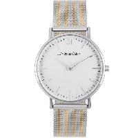 Montre Bracelet ANDREAS OSTEN.Montre Femme-AOP1915- Mouvement a quartz. Blanc et Argent