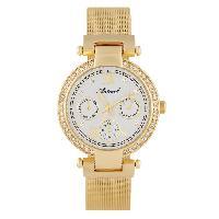 Montre Bracelet ANTONELI Montre Femme Quartz ANTS18049  doré