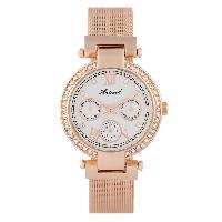Montre Bracelet ANTONELI Montre Femme Quartz ANTS18051  doré rose