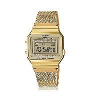 Montre Intelligente - Montre Connectee CASIO Collection Montre A700WEMG-9EF chrono. alarme. calendrier automatique
