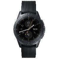 Montre Intelligente - Montre Connectee Galaxy Watch 42mm 4G. Noir Carbone Samsung